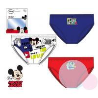 Slipy Mickey 3ks , Barva - Červeno-modrá , Velikost - 104/110