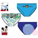 Slipy Mickey 3ks , Velikost - 122/128 , Barva - Modrá