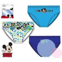 Slipy Mickey 3ks , Barva - Modrá , Velikost - 122/128