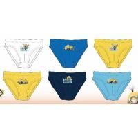 SLIPY Mimoni  3ks , Barva - Modro-žltá , Velikost - 146/152