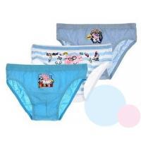 Slipy Peppa Pig 3ks , Barva - Modrá , Velikost - 104/110