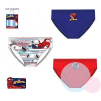 Slipy Spiderman 3 kusy , Barva - Červeno-modrá , Velikost - 92/98