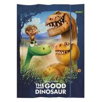 Zložka na zošity Dobrý Dinosaurus , Barva - Tmavo modrá