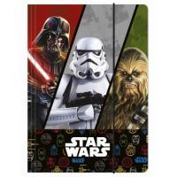 Zložka na zošity Star Wars , Barva - Barevná