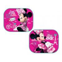 Slnečná clona Minnie Mouse , Barva - Malinová