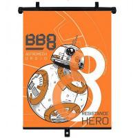 Slnečná clona Roletka Star Wars BB-8 1ks , Barva - Oranžová