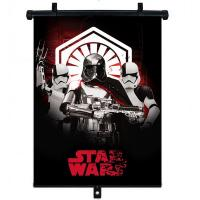 Slnečná clona Roletka Star Wars Stormtrooper 1ks , Barva - Čierna