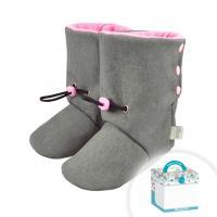 SoftShellové capáčky Koala , Barva - Ružová , Velikost boty - 0-6 měsíců