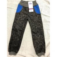 Softshellové kalhoty s fleecem  vzor , Velikost - 146 , Barva - Šedá
