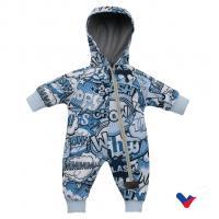 Softshellový overal New Baby Komix , Velikost - 68 , Barva - Modrá