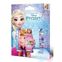 Hodinky a bižuterie Frozen , Barva - Ružová