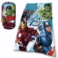Spací pytel Avengers , Rozměr textilu - 70x140 , Barva - Modrá
