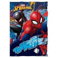 Složka na sešity Spiderman , Barva - Tmavo modrá