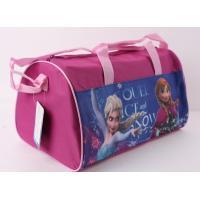 Športová taška Frozen , Barva - Tmavo ružová