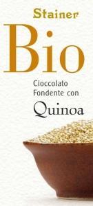 Stainer horká čokoláda s quinoa BIO , Velikost balení - 50g