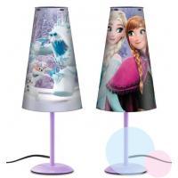 Stolní lampa Frozen , Barva - Fialová
