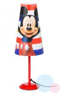 Stolní lampa Mickey , Barva - Červená