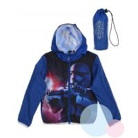 Šušťáková bunda Star Wars , Barva - Modrá , Velikost - 104