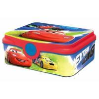 Svačinkový box Cars , Barva - Modro-červená