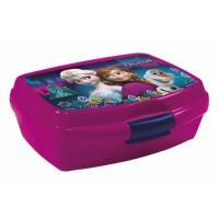 Box na svačinu Frozen , Barva - Tmavo fialová