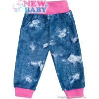 Tepláčky s vreckami Light Jeans baby  , Barva - Ružová , Velikost - 68