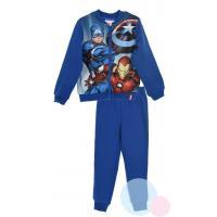 Tepláková súprava Avengers , Velikost - 104 , Barva - Modrá