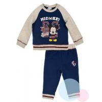 Tepláková súprava Mickey baby , Velikost - 80 , Barva - Béžová