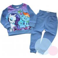 Tepláková súprava My Little Pony , Velikost - 98 , Barva - Modrá