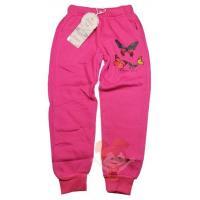Tepláky Motýľ , Barva - Ružová , Velikost - 122