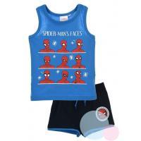 Tílko a kraťasy Spiderman , Barva - Modrá , Velikost - 98