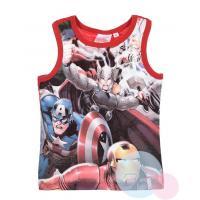 Tielko Avengers , Velikost - 104 , Barva - Červená