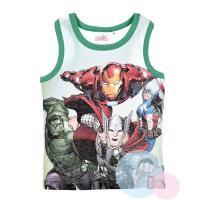 Tielko Avengers , Velikost - 104 , Barva - Zelená
