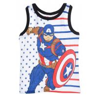 Tielko Avengers , Velikost - 104 , Barva - Biela