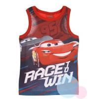 TÍLKO CARS Disney , Velikost - 98 , Barva - Červená