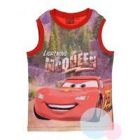 Tielko Disney Cars , Velikost - 98 , Barva - Červená