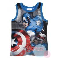 Tielko Kapitán Amerika , Velikost - 104 , Barva - Modrá