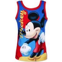 Tílko Mickey Mouse , Barva - Modro-červená , Velikost - 104