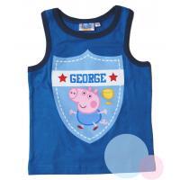 Tielko Peppa Pig , Velikost - 128 , Barva - Modrá