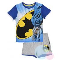 Tričko a kraťasy Batman , Barva - Modrá , Velikost - 98