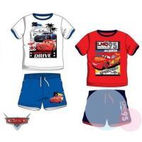 Tričko a kraťasy Cars , Barva - Červeno-modrá , Velikost - 98