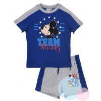Tričko a kraťasy Mickey , Barva - Modrá , Velikost - 98