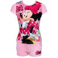 Tričko a kraťasy Minnie , Velikost - 98 , Barva - Svetlo ružová