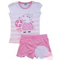 Tričko a kraťasy Peppa Pig , Velikost - 128 , Barva - Ružová
