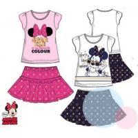Tričko a sukňa Minnie , Barva - Bielo-modrá , Velikost - 128