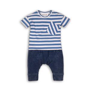 Tričko a tepláky , Velikost - 92 , Barva - Modrá
