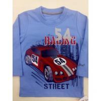 Tričko Auto , Barva - Modrá , Velikost - 140