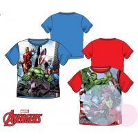 Tričko Avengers , Barva - Červená , Velikost - 104