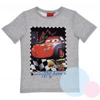 Tričko Cars Disney , Velikost - 98 , Barva - Šedá