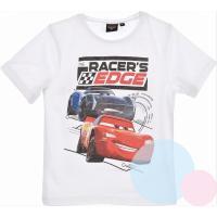 TRIČKO CARS , Velikost - 98 , Barva - Biela