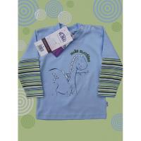 Tričko Dino , Barva - Modrá , Velikost - 68
